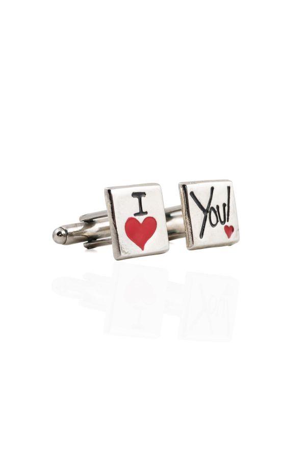 LOVE YOU - Cufflinks