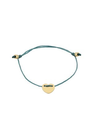 PETITE JEWELRY - LOVEFUL - GRAY - Dainty Heart Bracelet