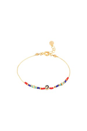 COMFORT ZONE - LUCKIEST - Dainty Evil Eye Bracelet