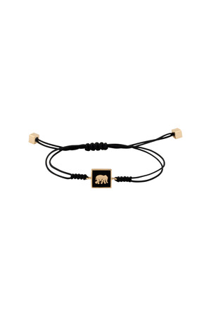 PLAYGROUND - LUCKY ELEPHANT - Pull Cord Bracelet