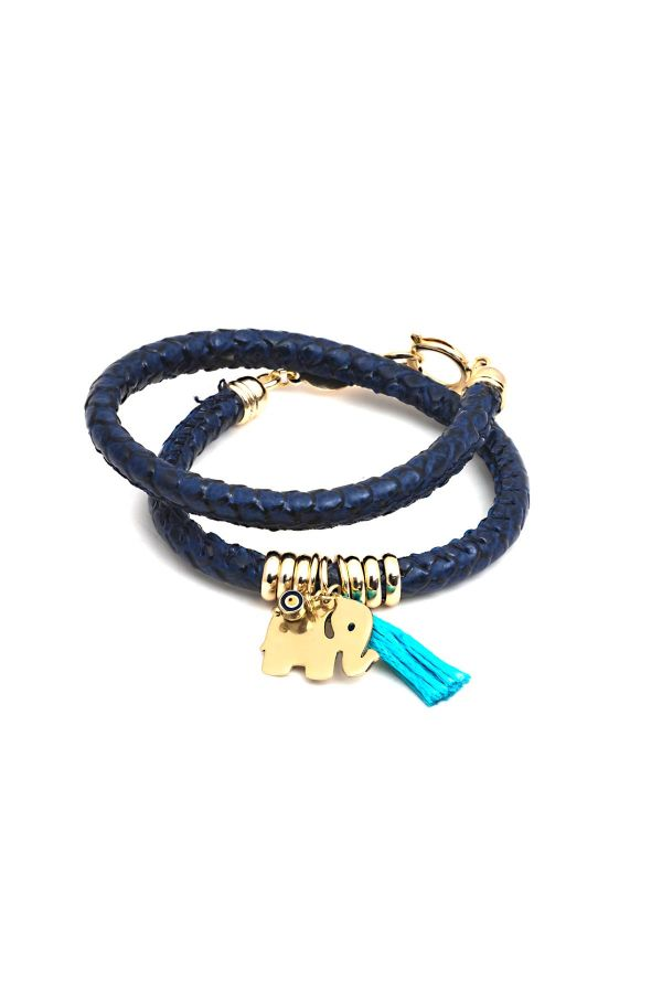 LUCKY ELEPHANT - Tasseled Bracelet