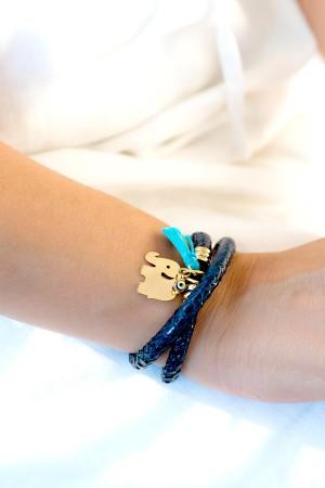 BAZAAR - LUCKY ELEPHANT - Tasseled Bracelet (1)