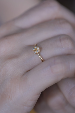 LUCKY - Horse Shoe Ring - Thumbnail