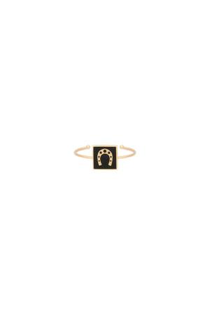 PLAYGROUND - LUCKY HORSESHOE - Luck Ring