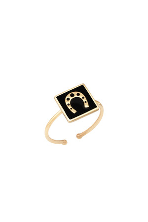 PLAYGROUND - LUCKY HORSESHOE - Luck Ring (1)
