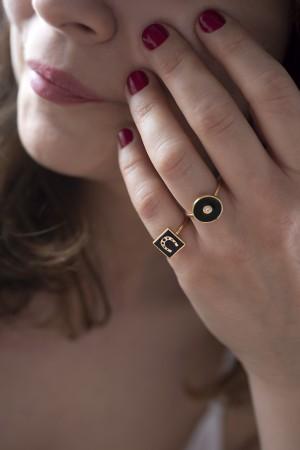 PLAYGROUND - LUCKY HORSESHOE - Luck Ring (1)