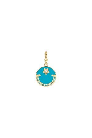 PETIT CHARM - LUCKY STAR - Azure - Madalyon Charm