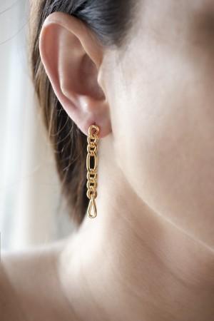 COMFORT ZONE - LYDIA - Chain Earrings (1)