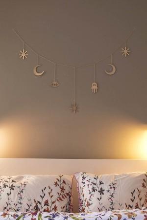 PETITE MAISON - MAGIC SKY - Ay yıldız Detaylı Duvar Dekoru (1)