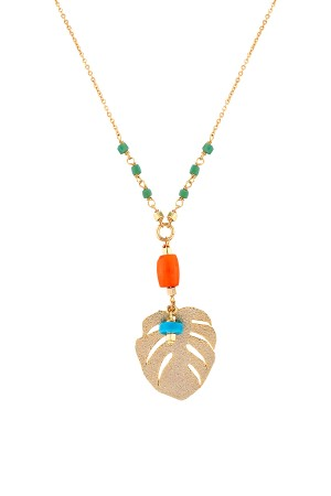 COMFORT ZONE - MARAKESH - Beaded Pendant Necklace