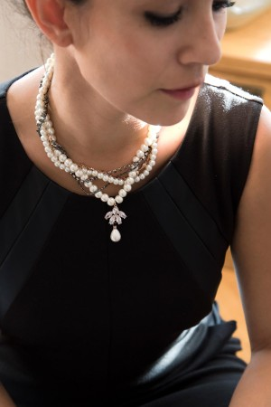 SHOW TIME - MEDIEVAL PEARL - Statement Necklace (1)