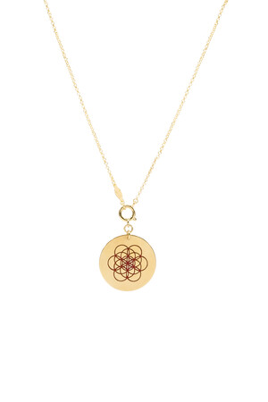 PLAYGROUND - MERKABA - Life of Flower Pendant Necklace