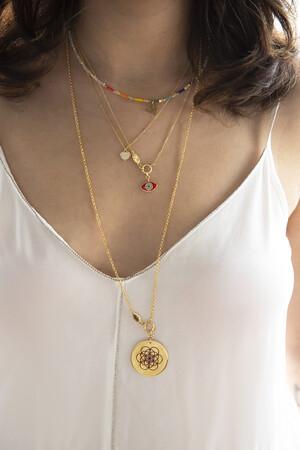 PLAYGROUND - MERKABA - Life of Flower Pendant Necklace (1)