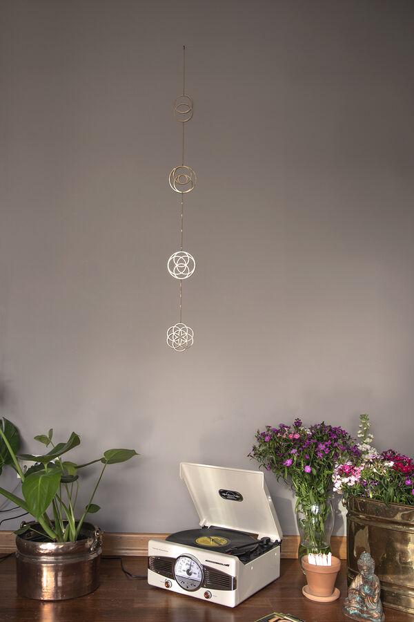 MERKABA - Yaşam Çiçeği Duvar Süsü
