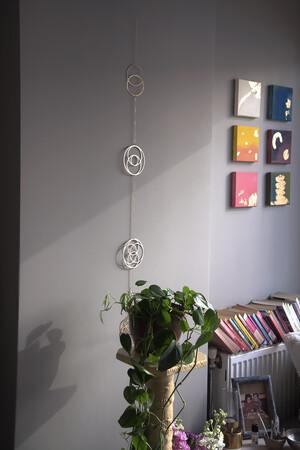 MERKABA - Yaşam Çiçeği Duvar Süsü - Thumbnail