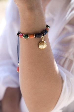 PLAYGROUND - MERMAID - Multistone Statement Bracelet (1)