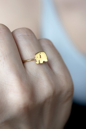 PLAYGROUND - MINI ELEPHANT - Adjustable Ring (1)