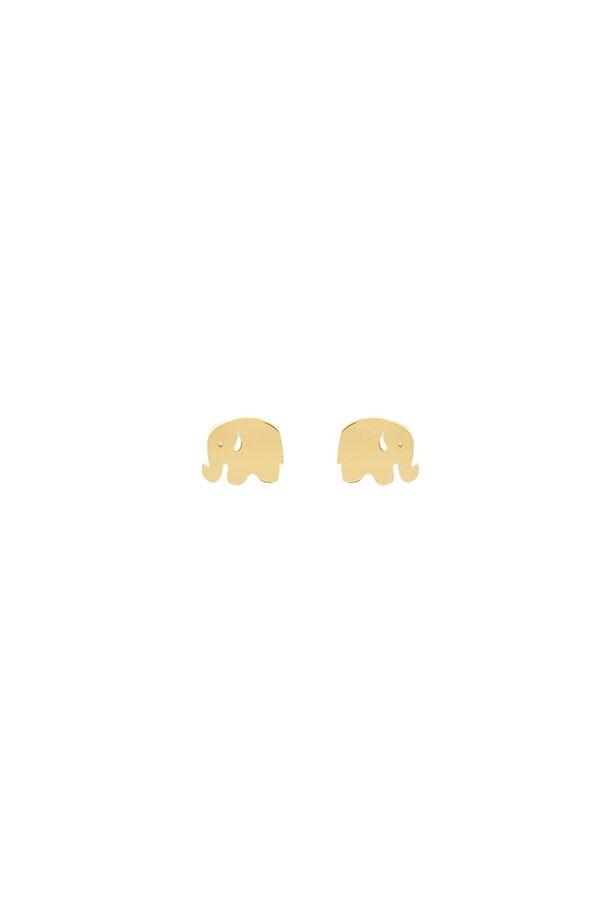 MINI ELEPHANT - Fil Küpe