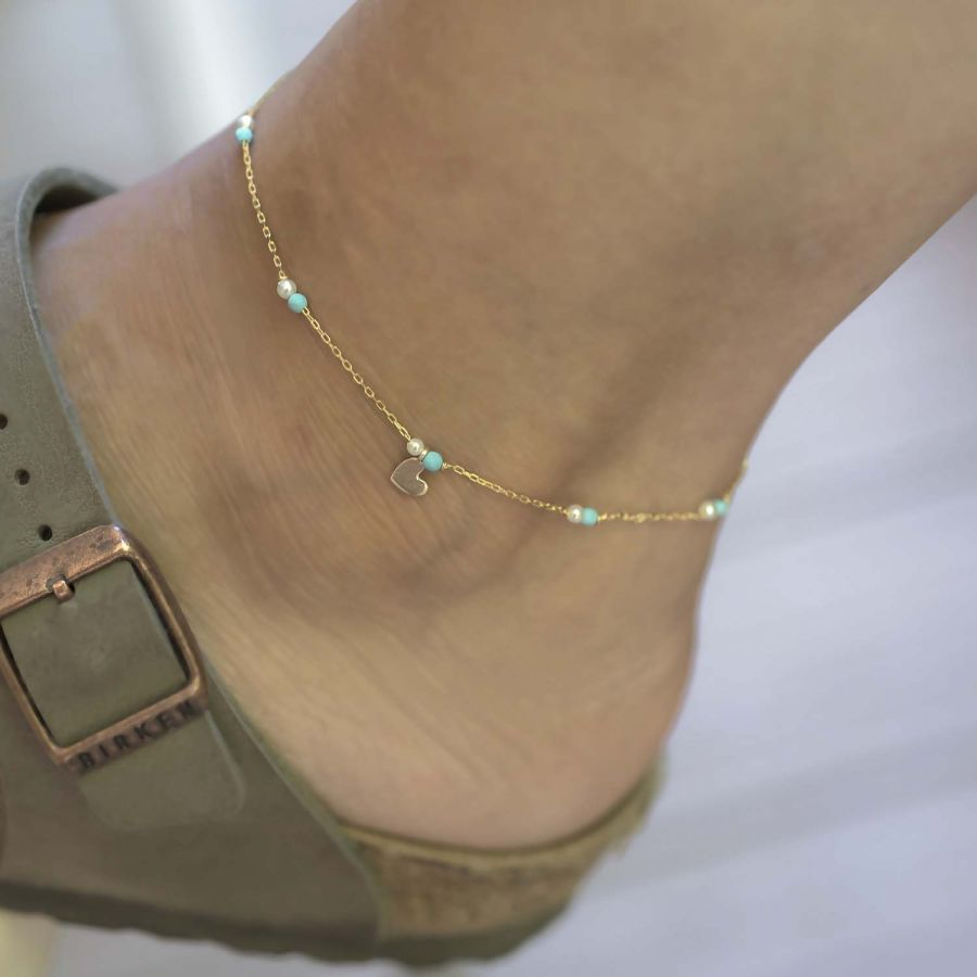 MINI HEART - Dainty Anklet