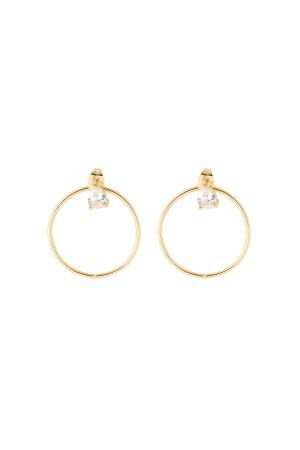 SHOW TIME - MINI HOOPS - Earjacket Earrings