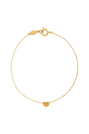 COMFORT ZONE - MINI LOVE - Delicate Heart Anklet