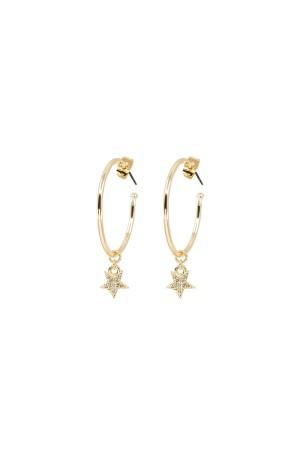 PLAYGROUND - MINI STAR - Hoop Earrings