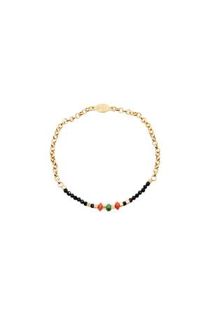 PLAYGROUND - MINI SPINEL - Multicolor Stone Bracelet