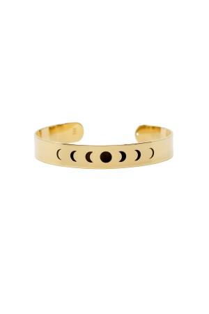 COMFORT ZONE - MOON PHASES - Cuff Bracelet