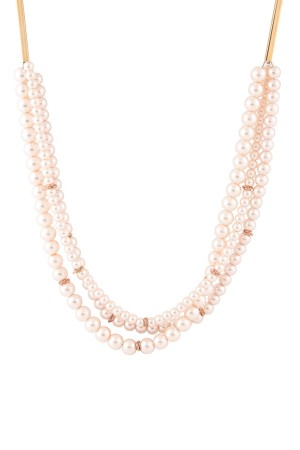 MULTI PEARLS - Faux Pearl Necklace - Thumbnail
