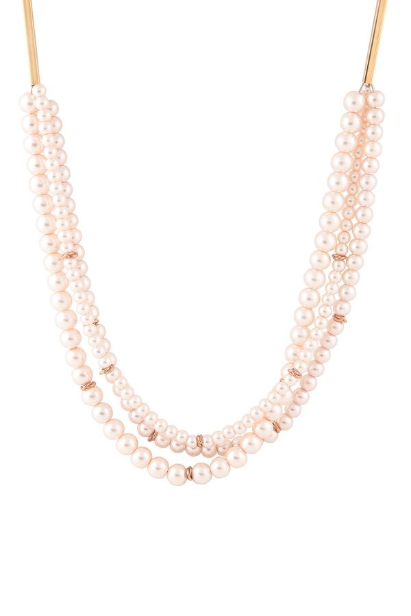 MULTI PEARLS - Faux Pearl Necklace