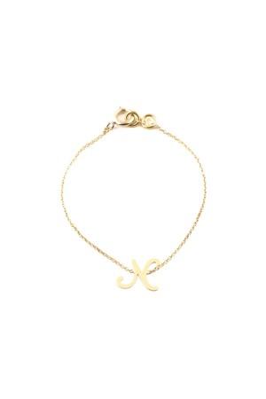 PETITE JEWELRY - N - Letter Bracelet