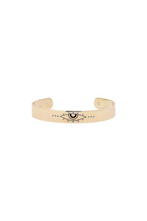 NASİP - Colored Eye Cuff Bracelet - Thumbnail