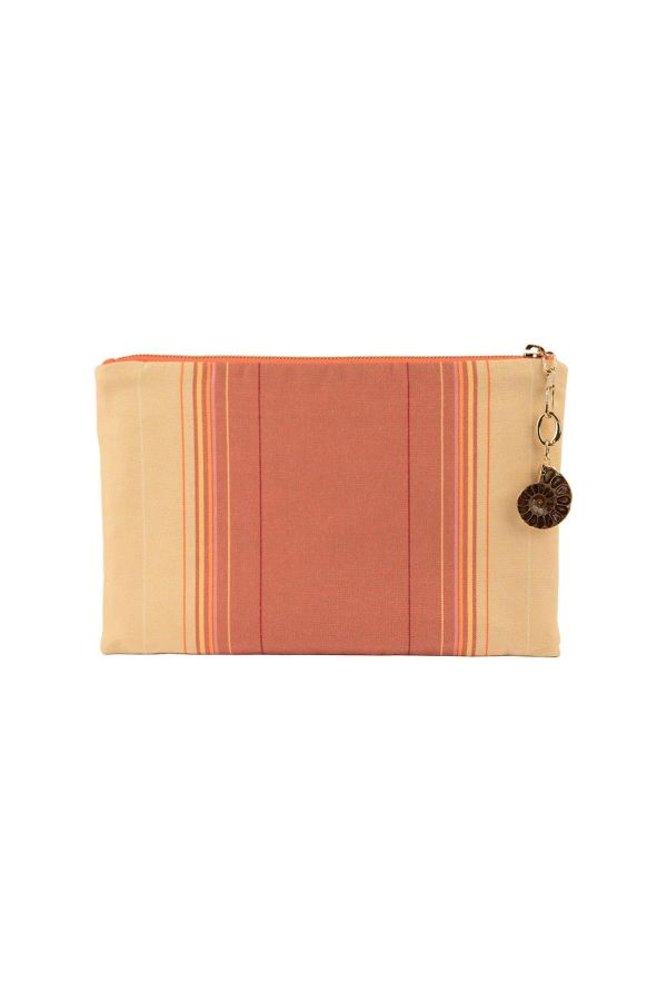 NATURAL ORANGE - Clutch Bag