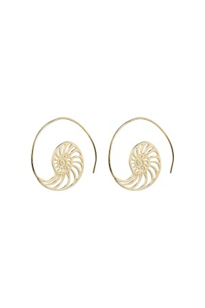 COMFORT ZONE - NAUTILUS - Hoop Earrings