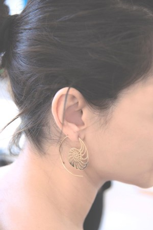 COMFORT ZONE - NAUTILUS - Hoop Earrings (1)