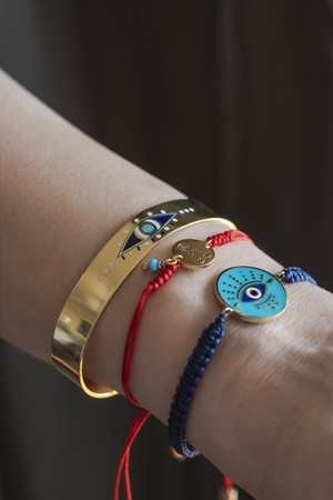 PLAYGROUND - NAZAR - Navy Blue Eye Cuff (1)