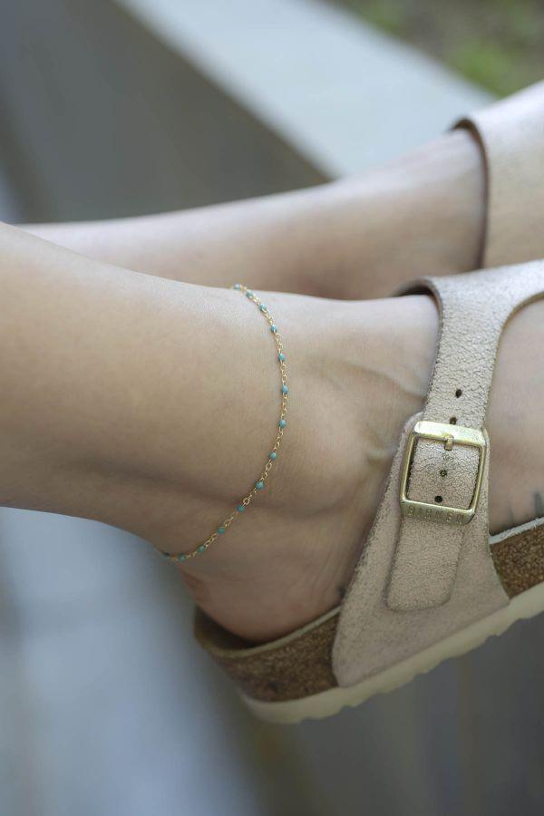 NELIPOT - Blue - Anklet