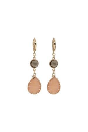 SHOW TIME - NUDE - Drop Earrings
