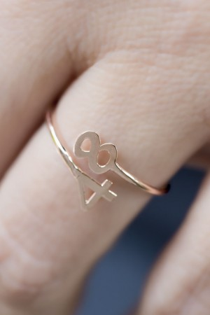 PETITE JEWELRY - NUMBERS - Sterling Silver Ring