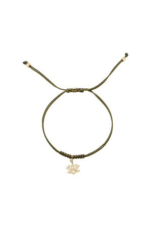 COMFORT ZONE - NYMPHEA - Lotus Çiçeği Bileklik