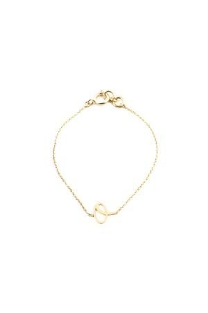 PETITE JEWELRY - O - Letter Bracelet