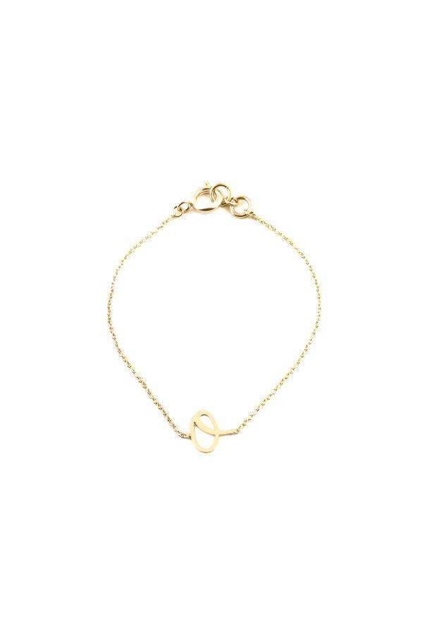 O - Letter Bracelet
