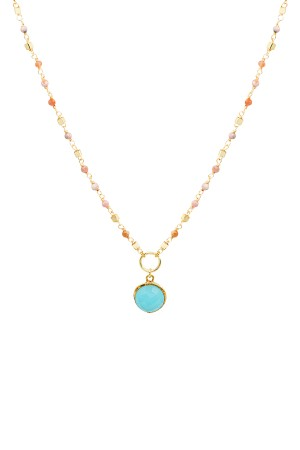 COMFORT ZONE - OCEAN - Aqua Marine Necklace