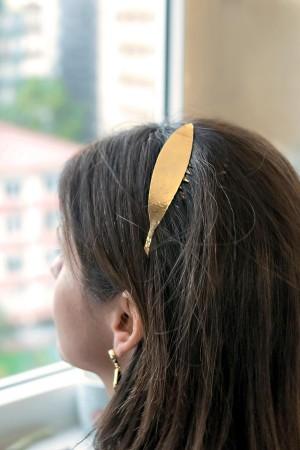 BAZAAR - OLIVE LEAF - Saç Aksesuarı (1)