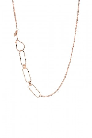 PETIT CHARM - ORIGIN - Asymmetrical Chain Necklace (1)
