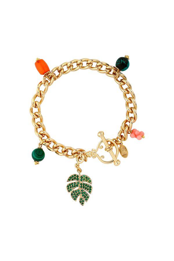 PALMA - Toggle Clasped Charm Bracelet