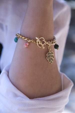 PLAYGROUND - PALMA - Toggle Clasped Charm Bracelet (1)