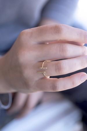 COMFORT ZONE - PARALLELE - Minimalistic Ring (1)