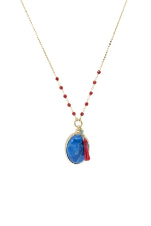 PLAYGROUND - PAROS - Turquoise Necklace