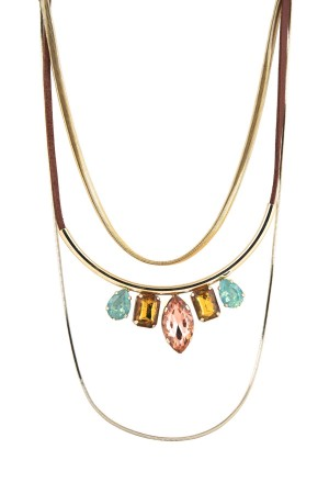 SHOW TIME - PASTEL - Layered Bib Necklace